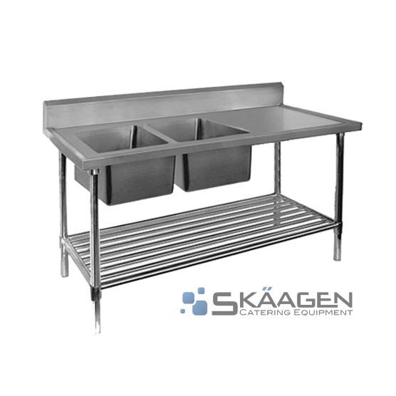 Unused S/S Sink 1500 x 600 - FSA-2-1500L