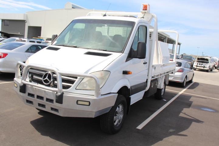 2011 Mercedes Benz Sprinter 316CDI MWB T/Diesel Cab Chassis, 91,316km