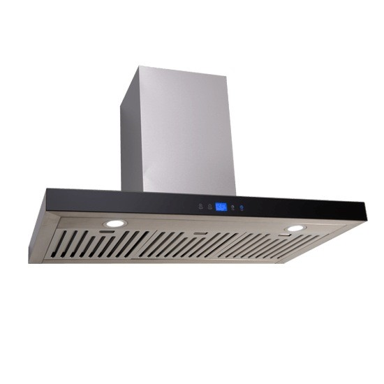 Euro 90cm Straight Touch Control canopy rangehood, Model: EA90STRS