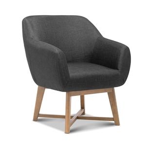 Artiss Aston Armchair - Charcoal
