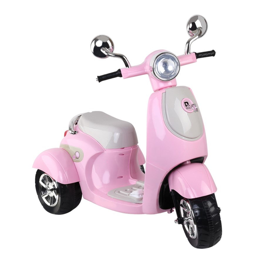 Rigo Kids Vino Ride On Motorbike - Pink