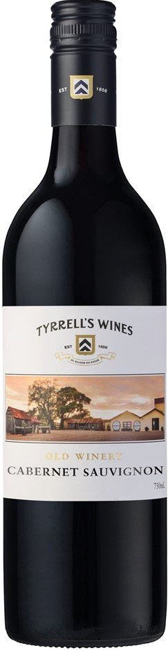 Tyrrell's `Old Winery` Cabernet Sauvignon 2017 (6 x 750mL), Hunter Valley.