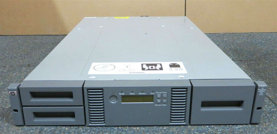 HP StorageWorks MSL2024 Tape Library Chassis