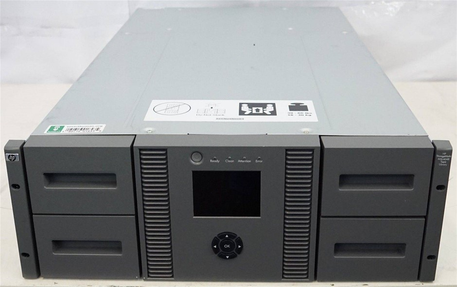 HP StorageWorks MSL4048 Tape Library Chassis