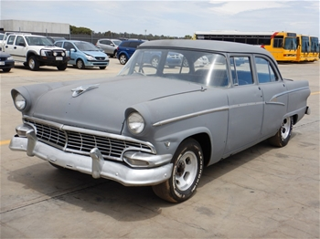 1956 Ford Customline RWD Automatic Sedan