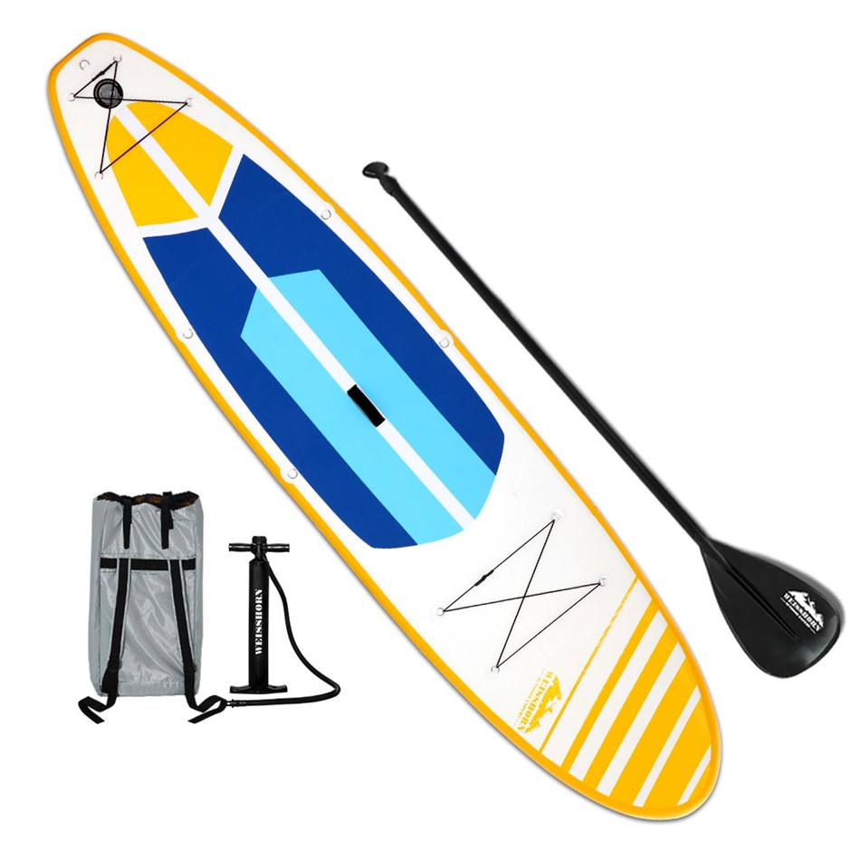 Weisshorn 11FT Stand Up Paddle Board - Yellow