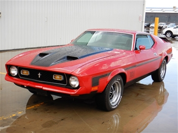 1971 Ford Mustang Mach 1 Automatic Coupe