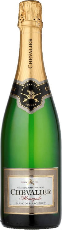 Chevalier Monopole Blanc de Blancs NV (12 x 750mL), France.