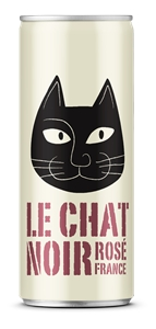 Le Chat Noir Rose 2017 (24 x 250mL Cans)