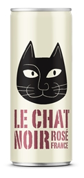 Le Chat Noir Rose 2017 (24 x 250mL Cans), France.