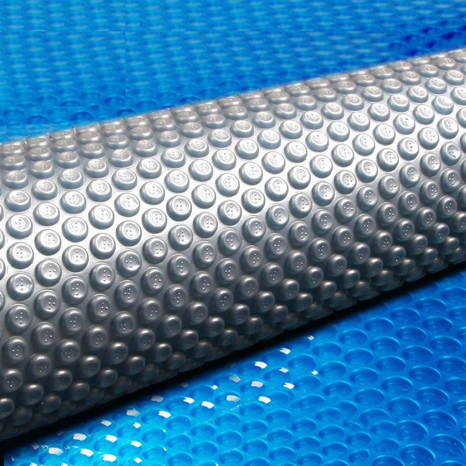 Aquabuddy 9.5 x 5M Solar Swimming Micron Pool Cover - Blue