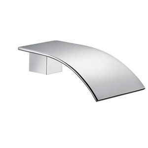 Waterfall Chrome Wall Bath Basin Outlet