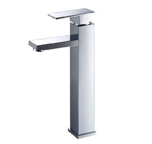 Square Chrome Counter Top/Above Basin Mi