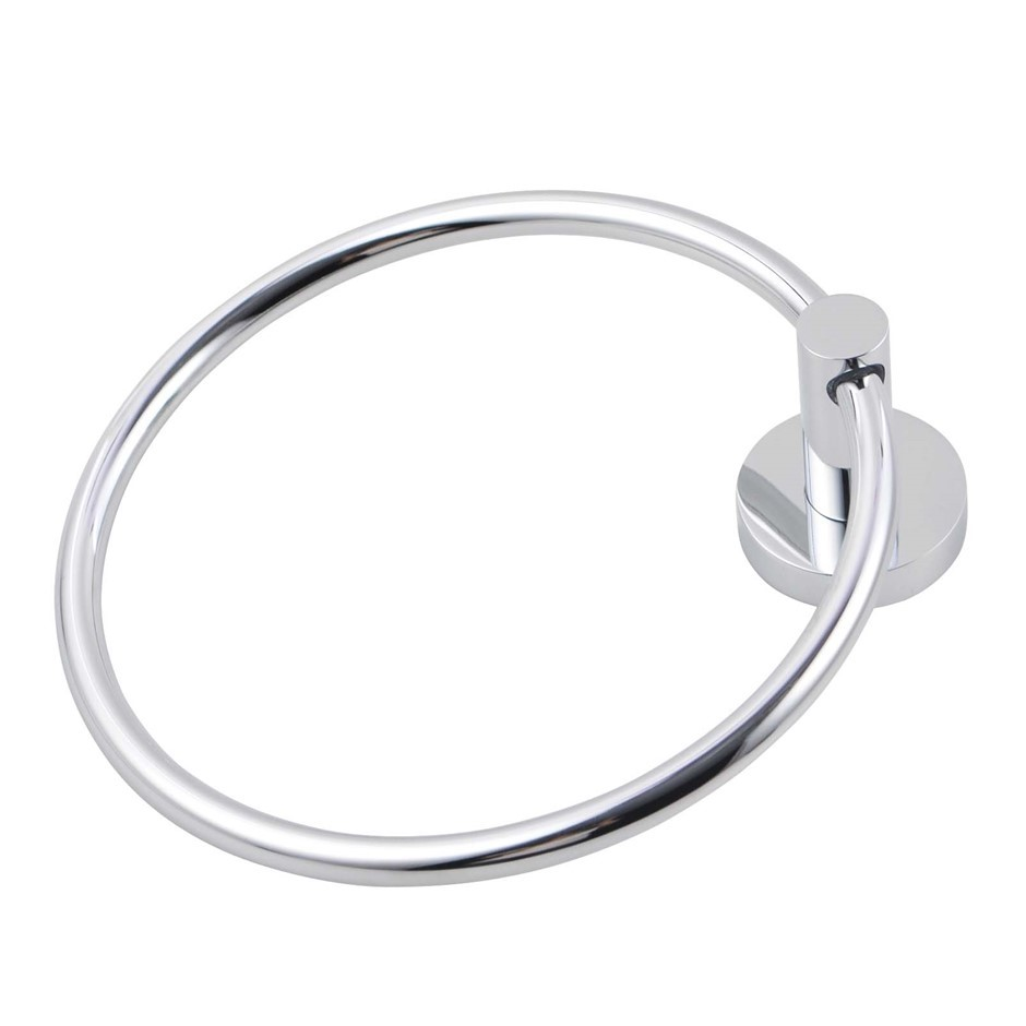 Bathroom Round Chrome 304 Stainless Steel Hand Towel Ring