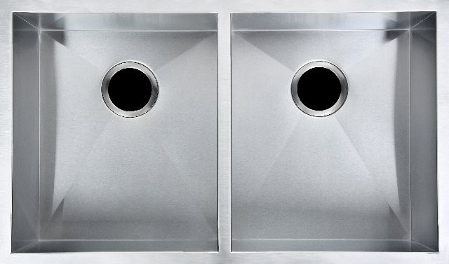 304 Stainless Steel Hand-made Double Kitchen Sink