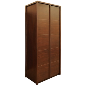 Freedom Furniture Riva Wardrobe 2 Doors Walnut Auction 0005 2058728 Graysonline Australia