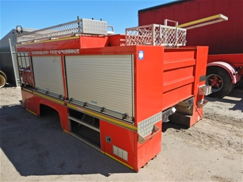 Fire truck body ASV