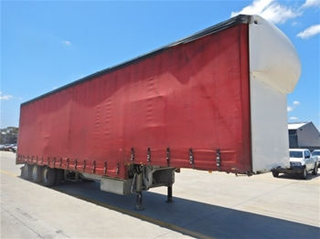 Drop Deck Curtainsider Trailer