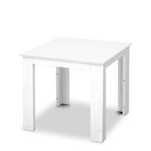 Gardeon Outdoor Side Table - White