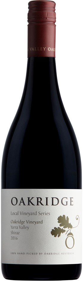 Oakridge LVS Oakridge Vineyard Shiraz 2014 (6 x 750mL), Yarra Valley, VIC.