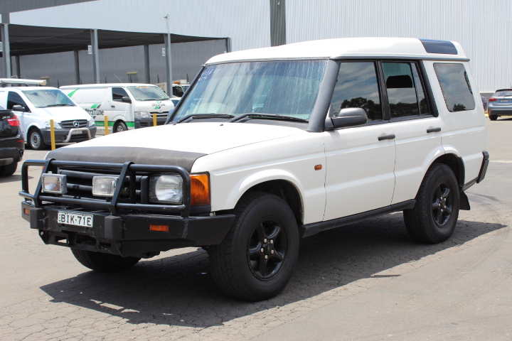 2001 Land Rover Discovery Td5 (4x4) Turbo Diesel Manual Wagon