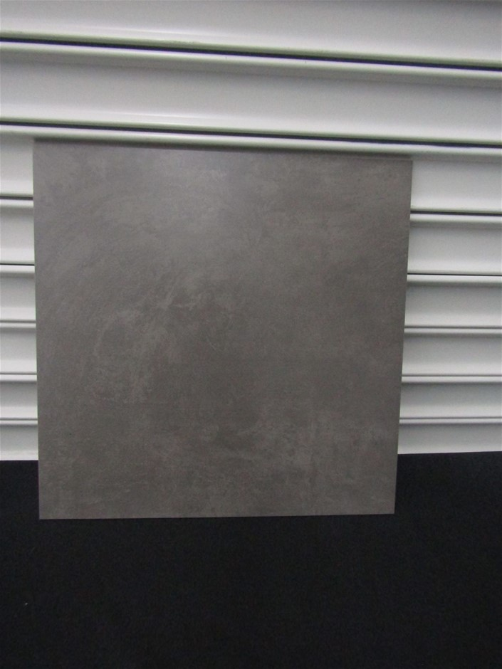 Pallet Of Rox 156 X Evolution Grey Gl Porc 2nd Grade Tiles 56 11m2