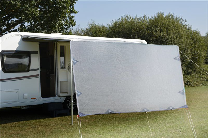 4.9m Caravan Screen Side Sunscreen Shade for 17' Awning