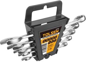 2 x TOLSEN 5pc Combination Spanner Sets,