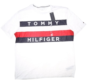 55e124f60 TOMMY HILFIGER Men`s Upstate Flag T-Shirt