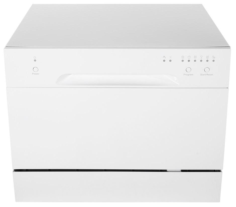 Omega ODW101W 55cm Compact Benchtop Dishwasher
