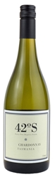 42  Degrees South Chardonnay 2018 (12 x 750mL), TAS.