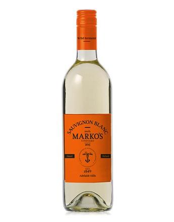 Marks Vineyard Wild Fermented Sauv Blanc 2016 (12 x 750mL) Adelaide Hills