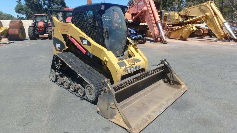 2010 Caterpillar 287C Rubber Tracked Skid Steer with Bucket