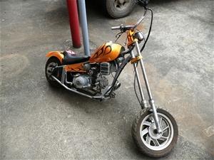 mini chopper motorcycle not street legal 50cc loncin. Black Bedroom Furniture Sets. Home Design Ideas