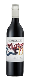 Deakin Estate Merlot 2018 (12 x 750mL), VIC.