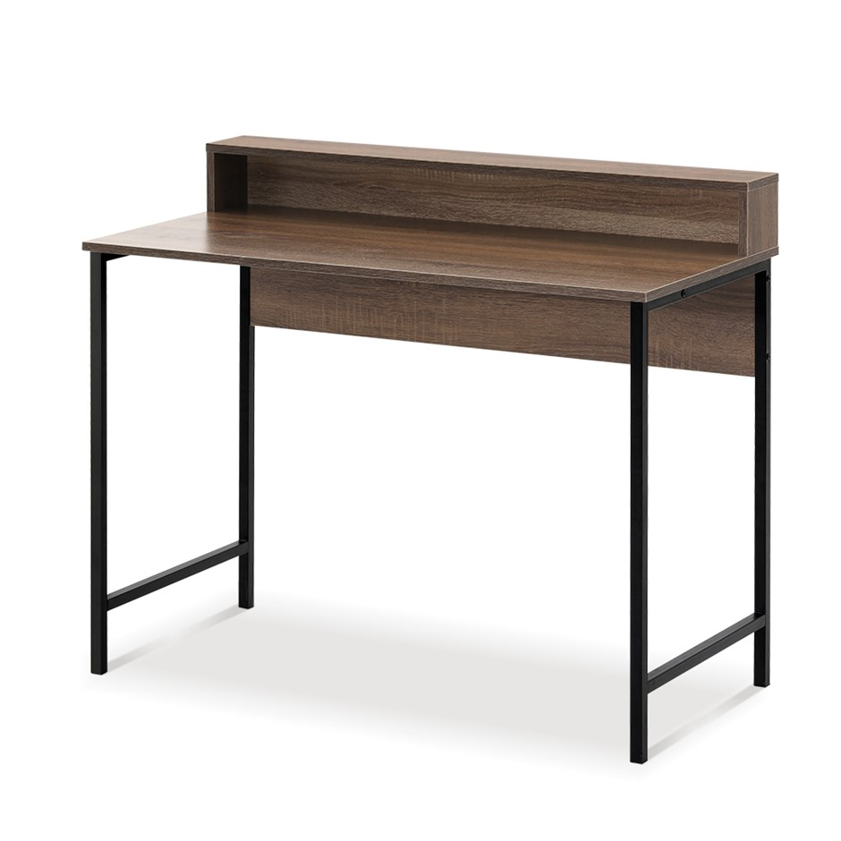 Artiss Computer Desk Metal Study Writing Office Table Cabinet Drawer