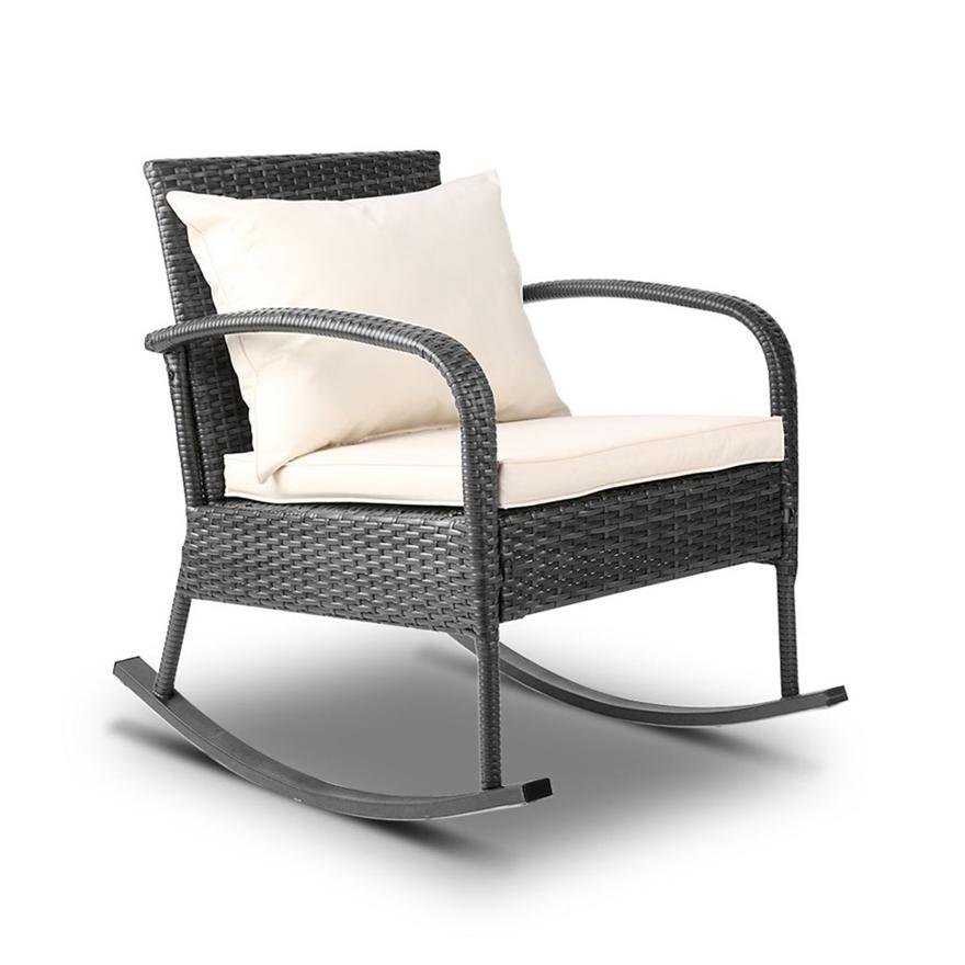 Gardeon Outdoor Furniture Rocking, Rocking Patio Furniture