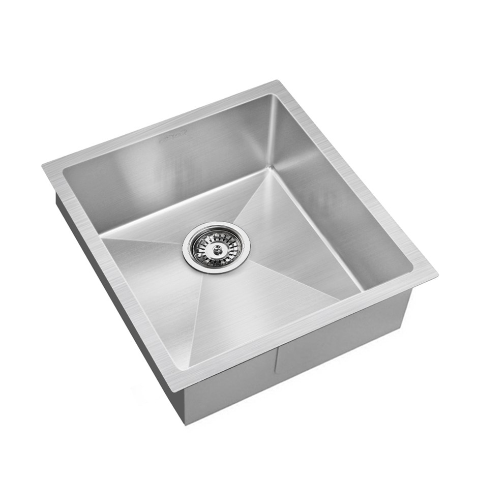 Cefito 440x450mm Nano Stainless Steel Kitchen Sink Top/Undermount Bowl