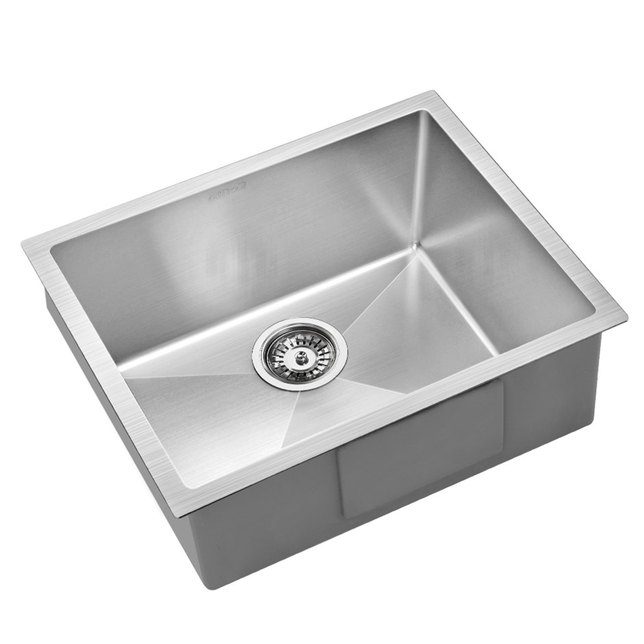 Cefito 540x440mm Nano Stainless Steel Kitchen Sink Top/Undermount Bowl