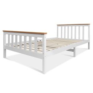 Artiss King Single Wooden Bed Frame PONY