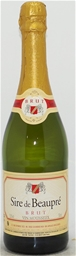 Sire De Baupre Brut Sparkling NV (6 x 750mL) Tourmanen, France