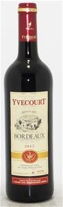Cellier Yvecourt Bordeaux AOC Rouge 2015