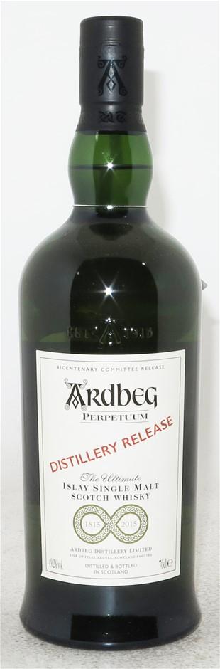 Ardbeg Perpetuum Distillery Release Single Malt Scotch Whisky (1 x700mL)