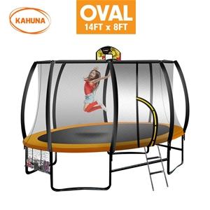 Kahuna Trampoline 8 ft x 14ft Oval Outdo