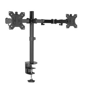 Dual LED Monitor Stand 2 Arm Hold Two LC