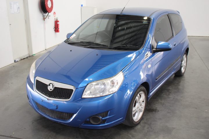 2009 Holden Barina TK Manual Hatchback, 102,226km (WOVR)