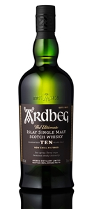 Ardbeg 10 YO Single Malt Scotch Whisky (