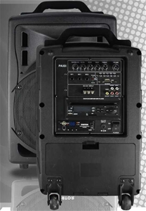 Orator Audio PA101 Portable PA with DVD,