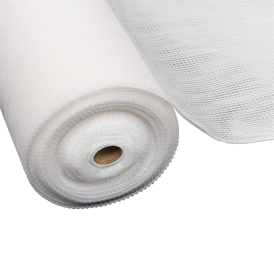 Instahut 1.83x20m 50% UV Shade Cloth Outdoor White