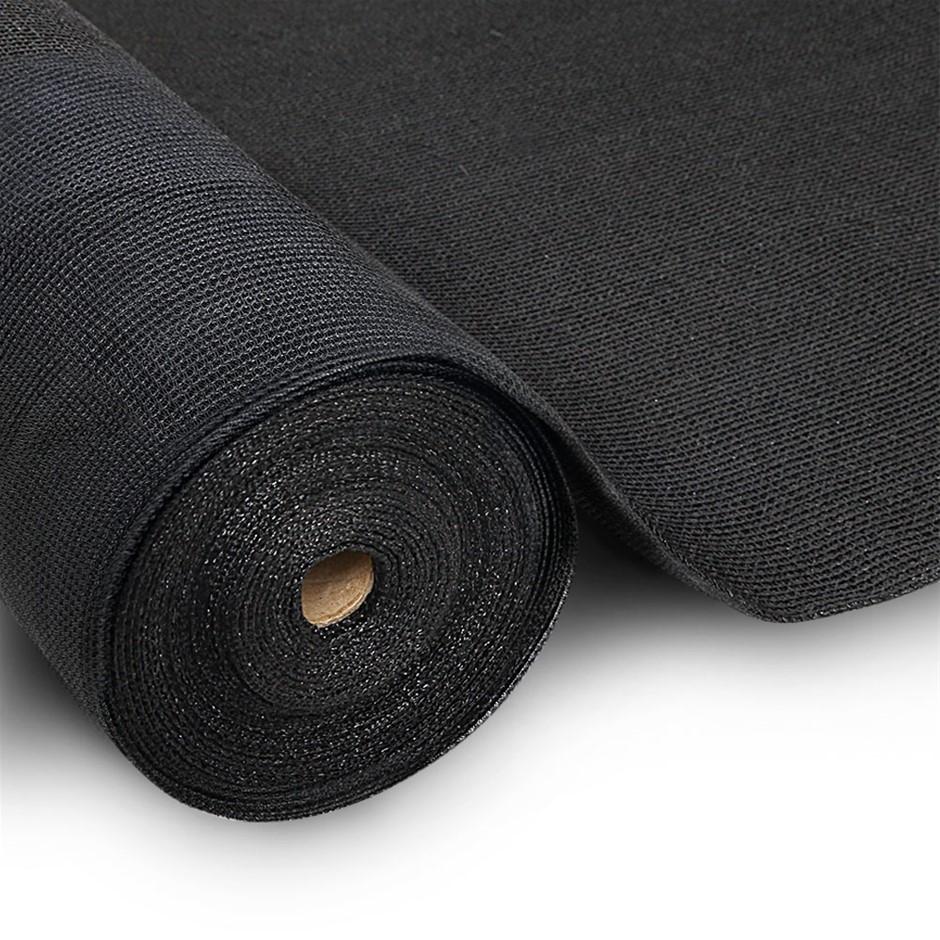 Instahut 3.66x20m 50% UV Shade Cloth Outdoor Black